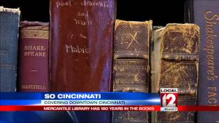 So Cincinnati: Mercantile Library