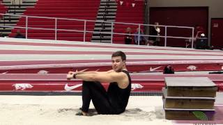HOW TO LONG JUMP - Seated Landing Drill