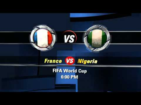 France vs Nigeria FIFA World Cup 2014 6.30