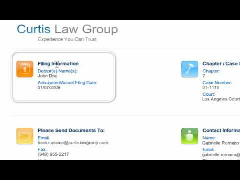 Bankruptcy: Online File Access