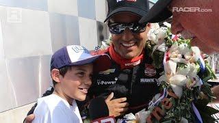 RACER: Juan Montoya Indy 500 Winner