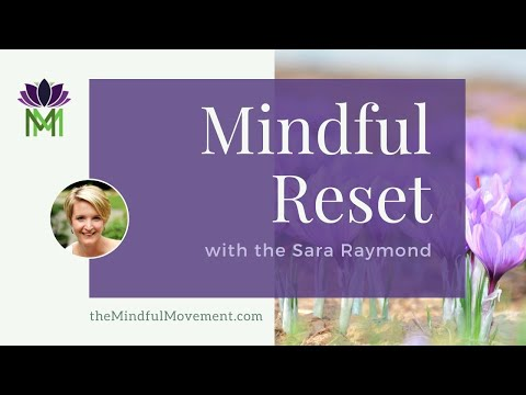Short Mindfulness Meditation--Reduce Stress and Anxiety in 6 Minutes