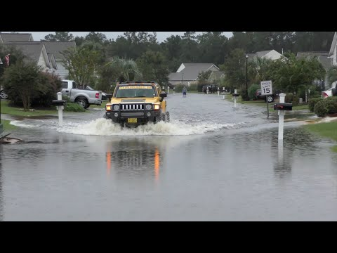 Horry County Flooding Caused By Severe Rainfall Stemming from Hurricane Joaquin October 4th, 2015