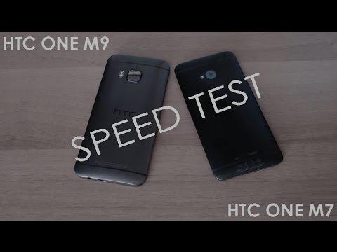 HTC One M9 vs HTC One M7 - Speed Test (Running Apps + Multitasking)