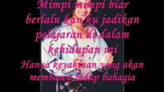 Nike Ardilla - Menyibak Tirai Kelabu (Lyrics)