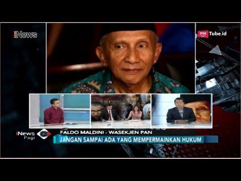 Penjelasan Wasekjen PAN Soal Amien Rais Ancam Bongkar Kasus Korupsi Lama - iNews Pagi 10/10