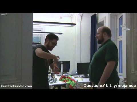 Bacon Slapfight: Markus Persson (Notch) vs Jakob Porser (JahKob)