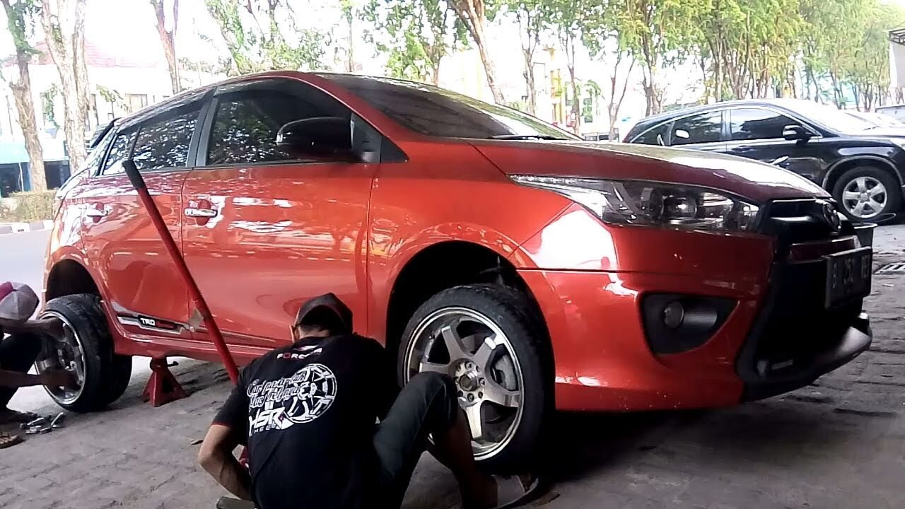 Jual Velg All New Yaris Trd Grand Avanza 1.3 G M/t 2017 Modifikasi Sll On Volk Rays Te37 By Vip Autostyle Youtube