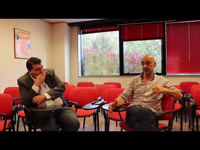 Miguel Anxo Bastos e Antolín Alcántara debaten sobre as pensións