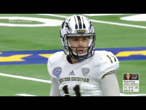 2017 Cotton Bowl Western Michigan vs  Wisconsin Jan 2, 2017 FULL GAME