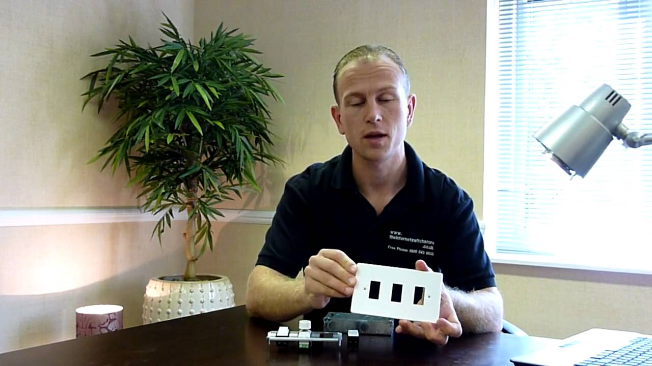 Varilight Powergrid Grid System For Dimmer Rocker Switches - Wiring a grid switch
