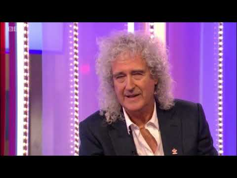 Big 95 Morning Show - Queen's Brian May kicks his leather sneakers to the curb