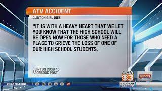 Clinton girl dies in ATV accident