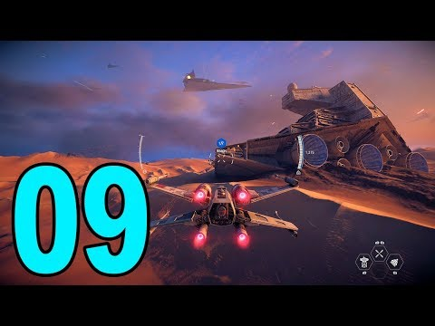Star Wars Battlefront 2 Story - Part 9 - Where's Rey?!