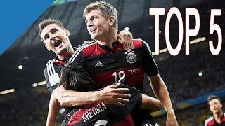 Top 5 -  Beste Spiele der WM 2014