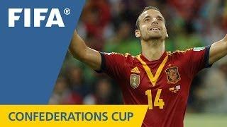 Spain 2:1 Uruguay, FIFA Confederations Cup 2013