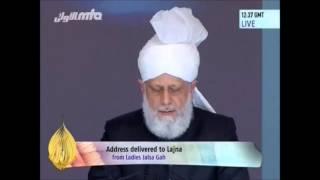 Le Calife s'adresse aux dames - Conférence Annuelle 2014, Grande-Bretagne