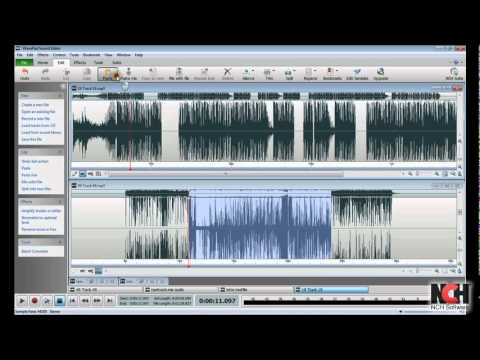 WavePad Audio Editing Software | Intro to Editing - YouTube