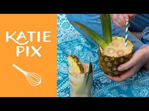 Tropical Non-Alcoholic Piña Colada Recipe   Katie Pix