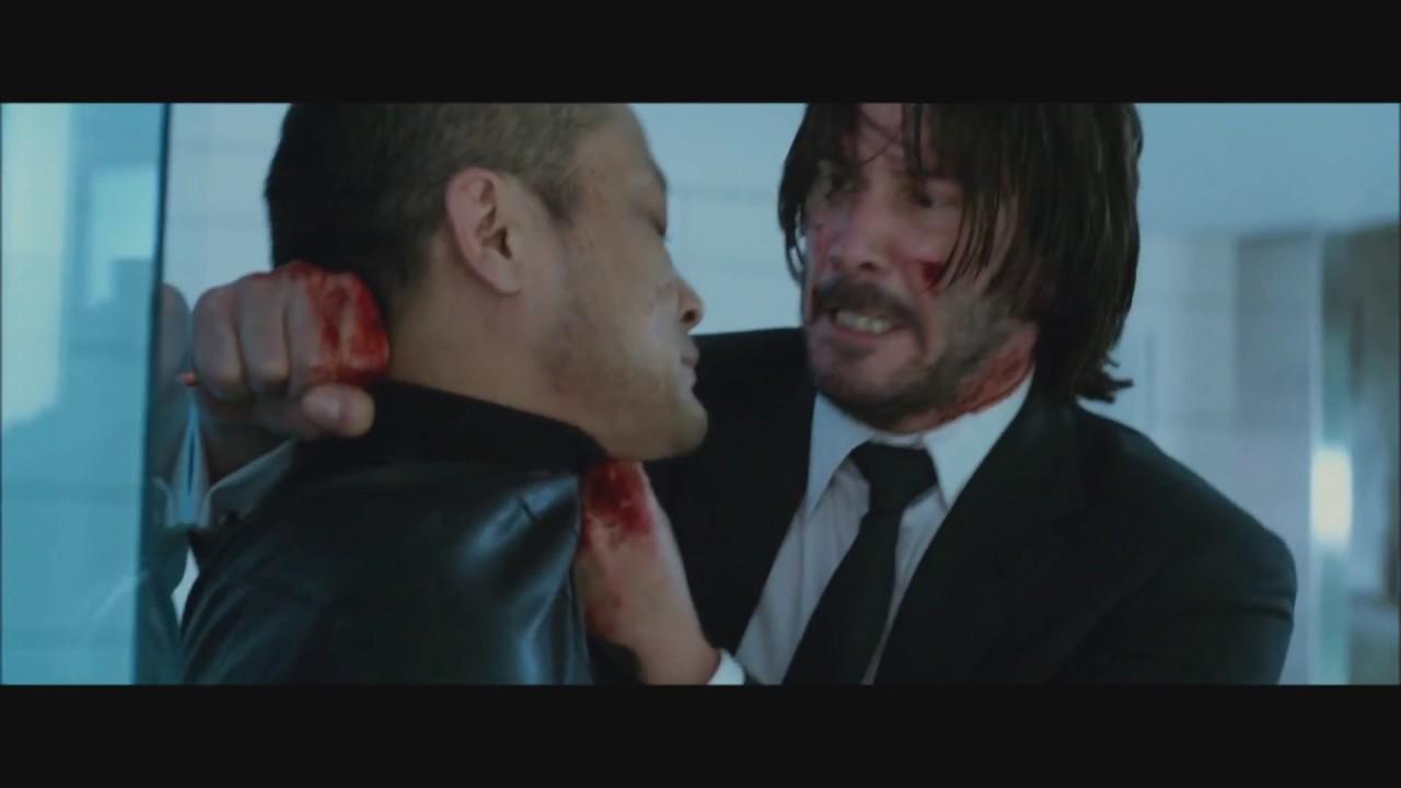 John Wick Chapter 2 2017 Pencil Kill Scene Youtube