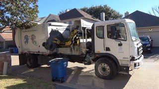 City of Dallas: Autocar Xpert Bridgeport CSC Garbage Truck