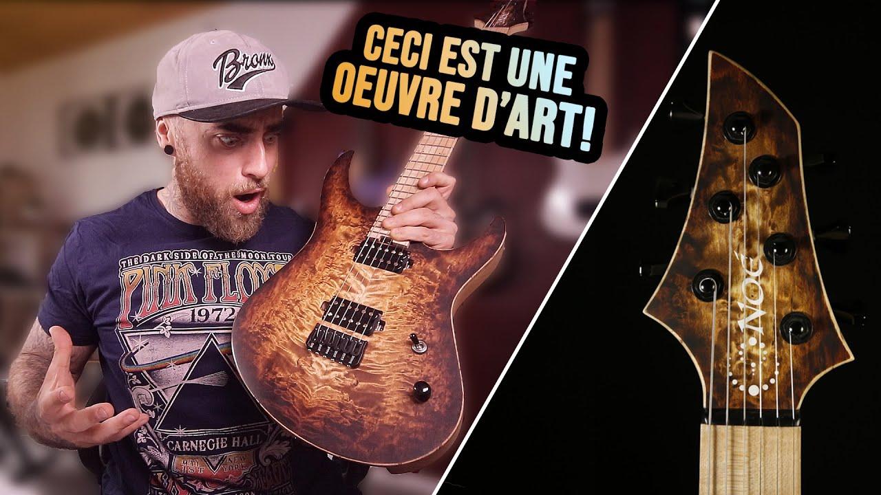 JE TESTE UNE ULTRA HAUT DE GAMME! La Super Strat Noé guitares (Unboxing & Test)
