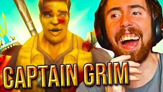 Asmongold Cant Stop Laughing At Captain Grims Videos Classic WoW VS BFA