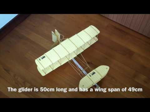 The Wright Brothers' Bi-plane glider kit.