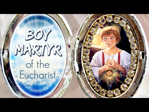 St. Tarcisius: Boy Martyr of the Eucharist