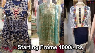 Indian And Pakistani Party Wear Dresses And Casual Dresses With Low Price - Jama Mall Karachi