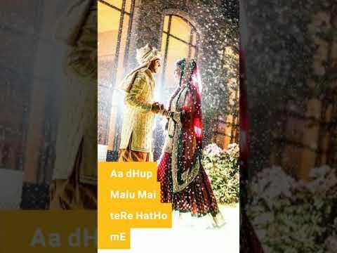 Aa Dhup Malu Mai Tere Hatho Me ( Aaja_Mahiya_Aaja ) Full Screen Whatsapp Status