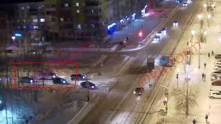Школьник жёстко сбит на Мира  проспект Победы в Нижневартовске