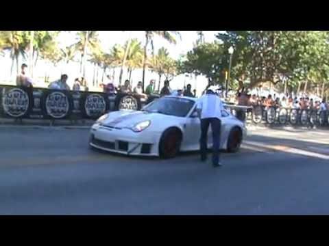 Lamborghini LP560-4 REV, Yellow Porsche 911 Turbo, SSC Ultimate Aero TT, M5 Burnout, White GT3 RS