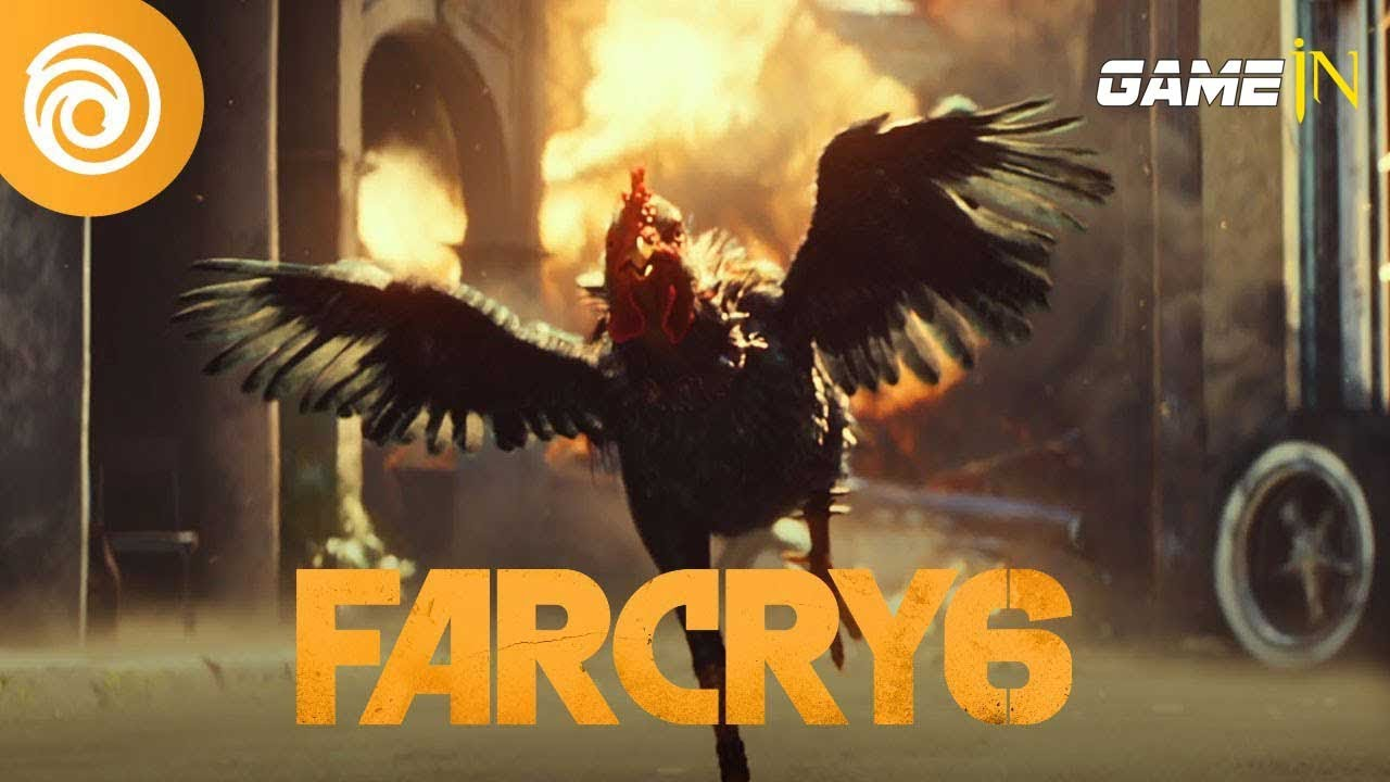 Trailer Video over Far Cry 6 Shows New Cinematic Trailer With Fighting Rooster Chicharrón