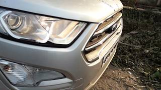 How to use Ford Ecosport Headlights