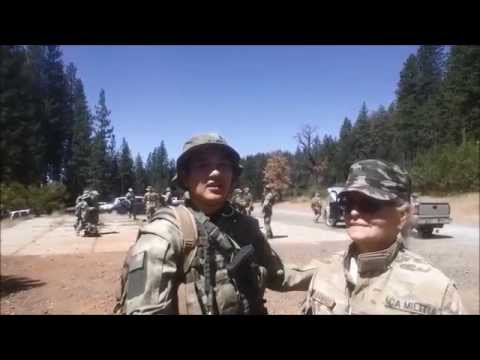 Insider's Look at California State Militia -Episode 5- Run, Security and Drill Training