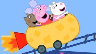 Peppa Pig Official Channel | Peppa Pig's Roller Coaster FUN!