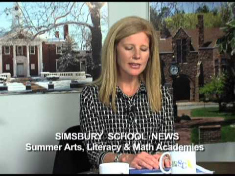 Simsbury School News: Summer Arts and Literacy & Math Academies