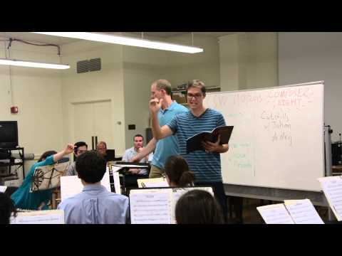 Columbia Summer Winds Composer Night with Michael Markowski