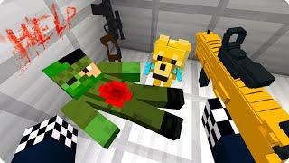 😢Мои друзья стали зомби ЧАСТЬ 87 Зомби апокалипсис в майнкрафт - Minecraft - Сериал ШЕДИ МЕН