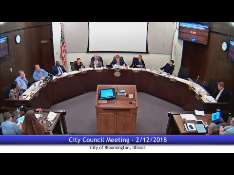 February 12, 2018 - City Council Meeting