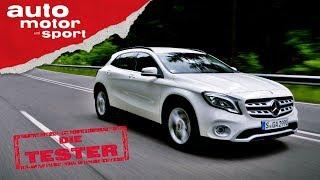 Mercedes GLA 250: A-Klasse als Hochstapler? - Die Tester | auto motor und sport Video