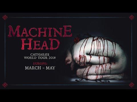 MACHINE HEAD - Europe: CATHARSIS World Tour (OFFICIAL TRAILER)