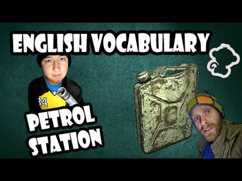 Petrol station - English vocabulary