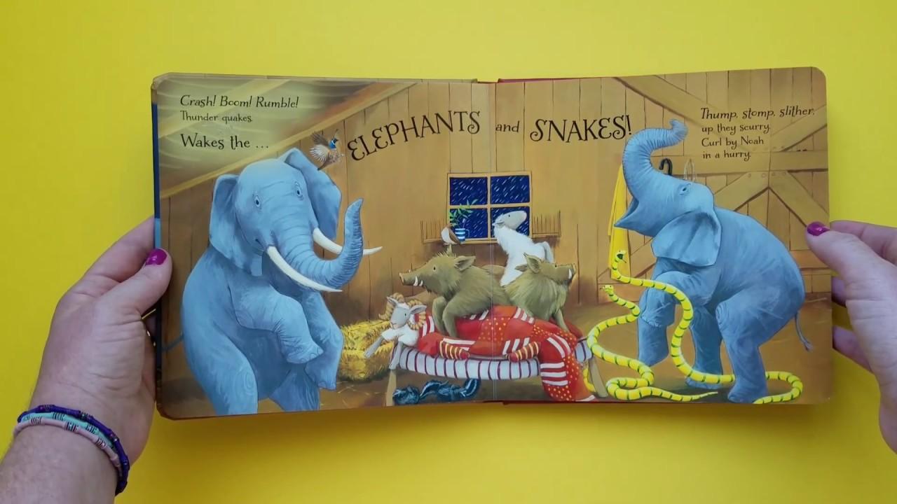 goodnight ark children u0027s book read aloud noah u0027s ark story youtube