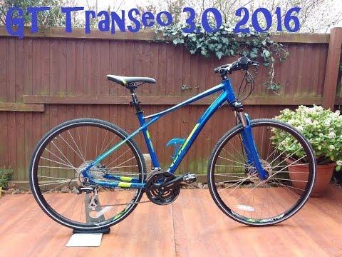 Gt Transeo 3 0 2016 Hybrid Sports Bike Youtube