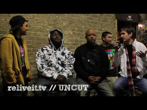 CUNNINLYNGUISTS INTERVIEW // RELIVEIT.tv