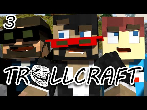 Minecraft: TrollCraft Ep. 3 - INTO THE VOLCANO