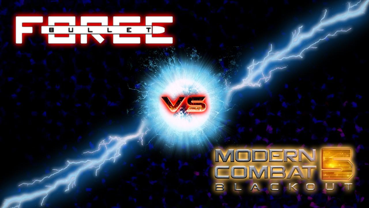 BULLET FORCE vs. MODERN COMBAT 5 | WAS IST BESSER?! - YouTube
