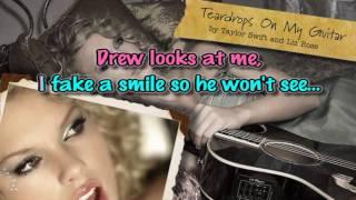 """""""TEARDROPS ON MYGUITAR"""" [Karaoke/Instrumental]"""